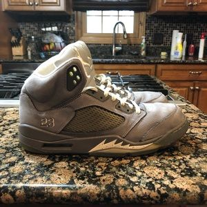 Jordan 5 Wolf Grey Size 12